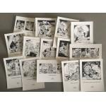 32 ansichtkaarten Heer Bommel en Tom poes